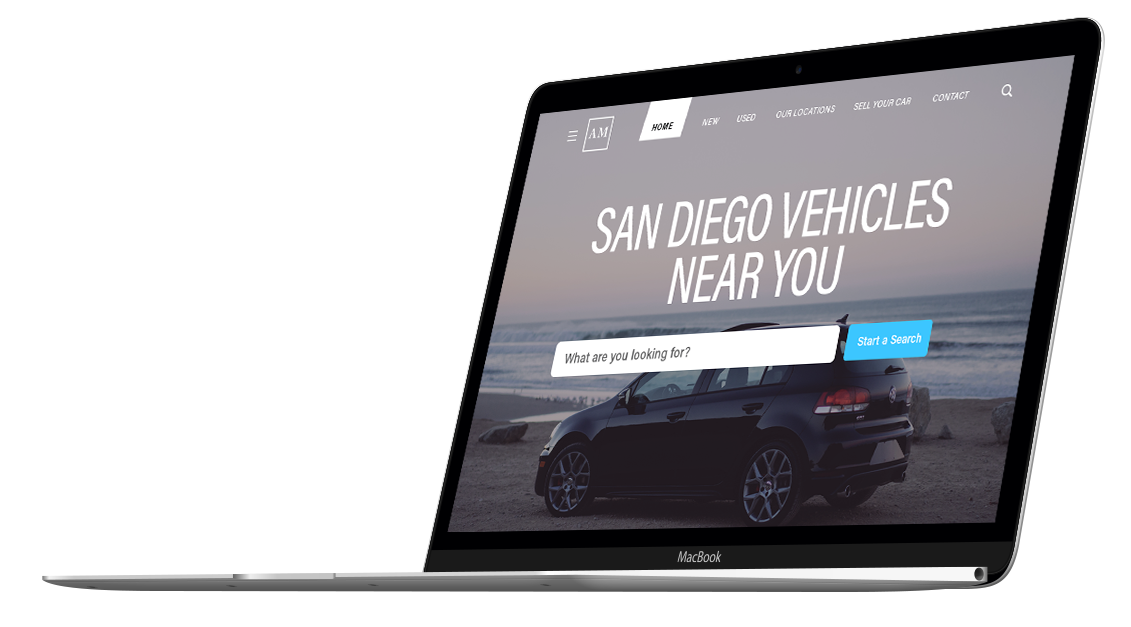 GeoTarged Personalized Image. San Diego Vehicles near you